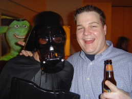 Reyo welcomes Darth Vader into the esteemed Potato Club.